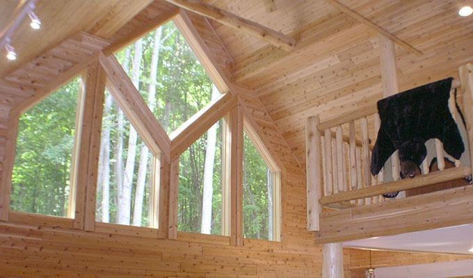 cedar siding pine log siding